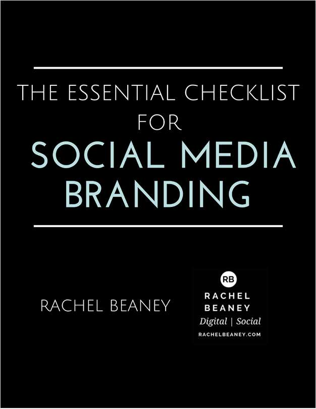 The Essential Checklist for Social Media Branding