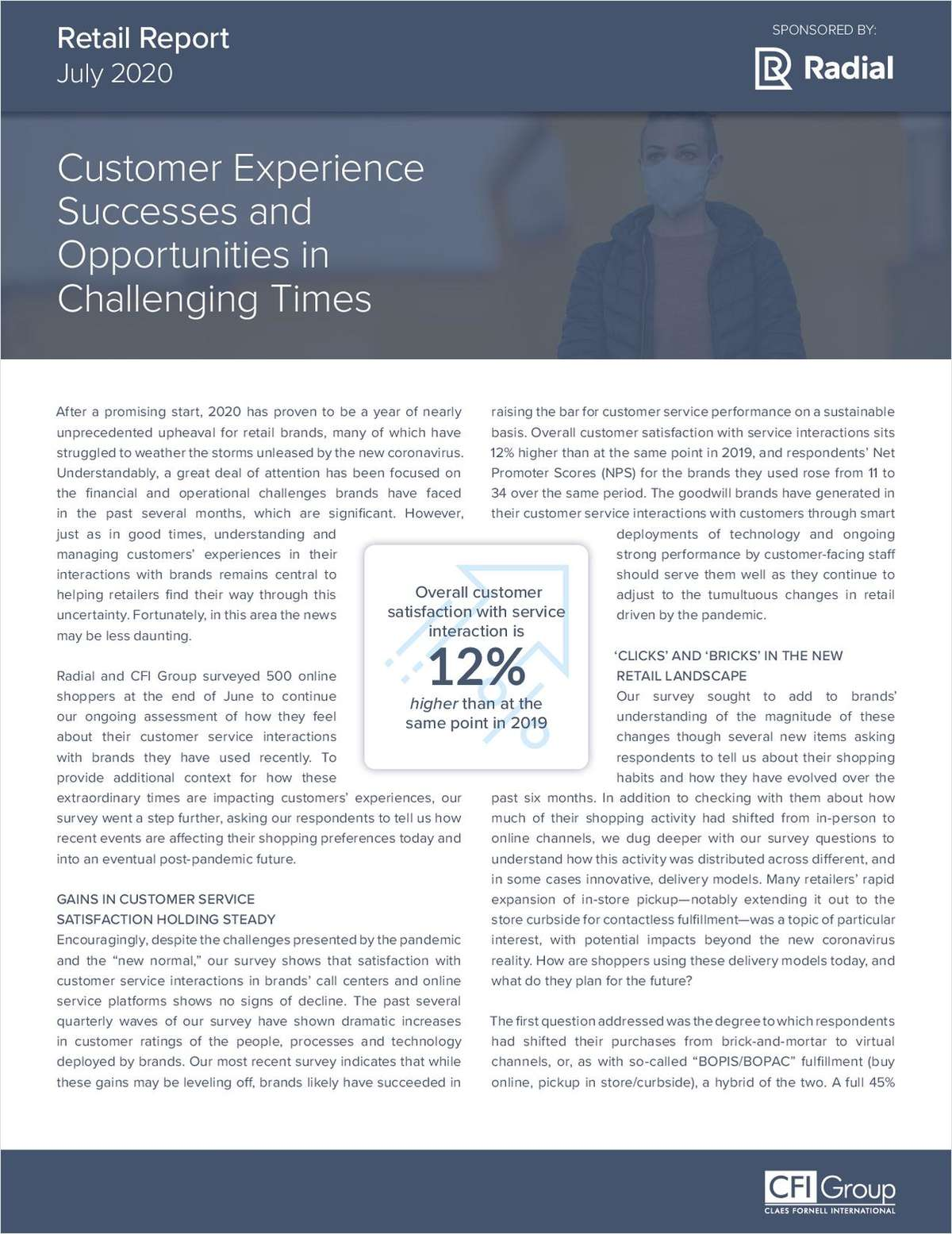 Customer Experience Successes and Opportunities in Challenging Times