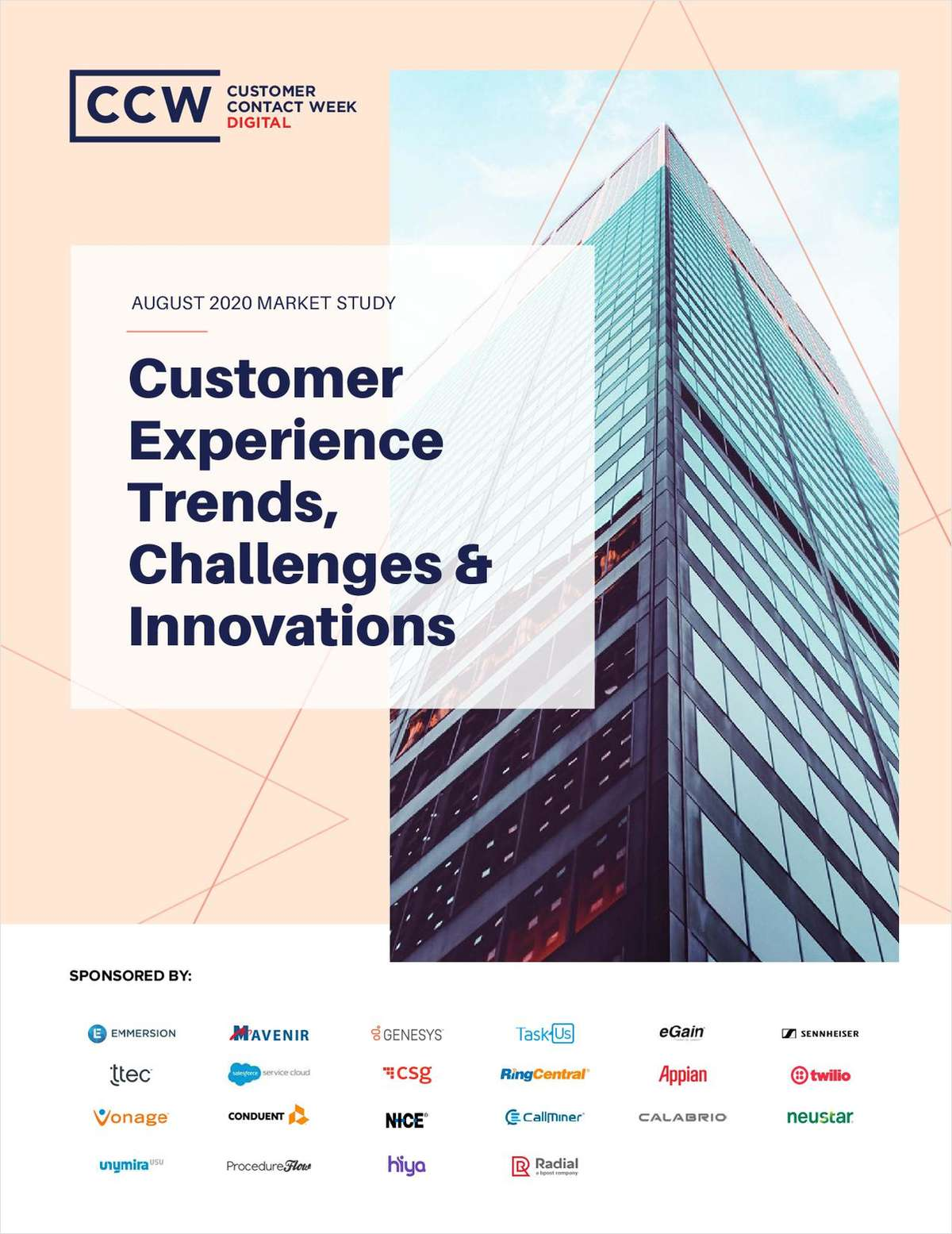 Market Study: Customer Experience Trends, Challenges & Innovations