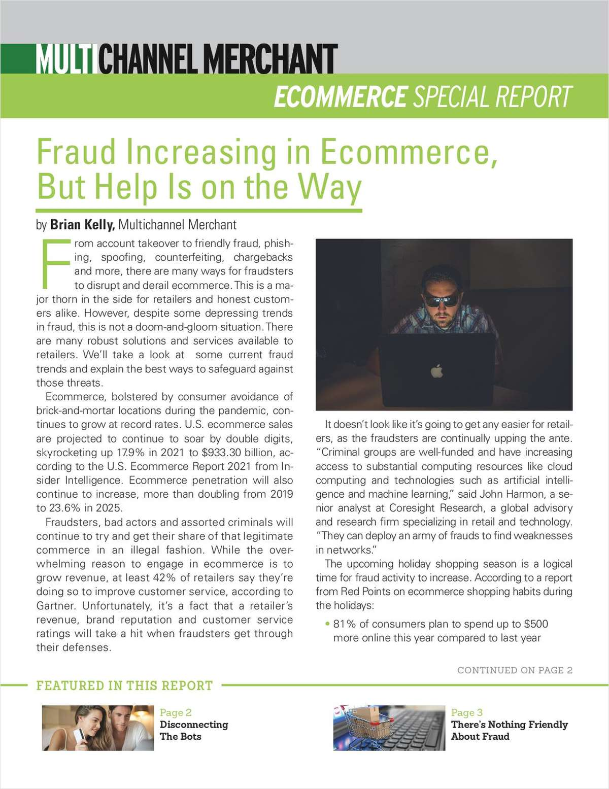 Ecommerce Fraud Increasing, But Help Is On the Way