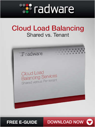 Cloud Load Balancing: Shared vs. Tenant