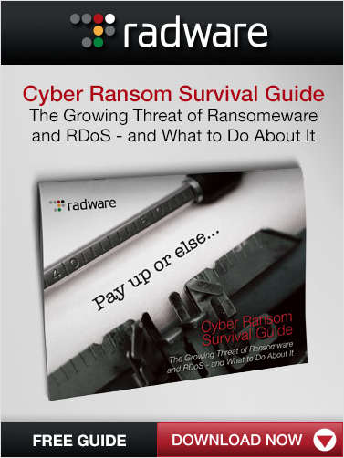 Cyber Ransom Survival Guide: The Growing Threat of Ransomware and RDoS - and What to Do About It
