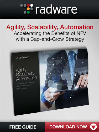 Agility, Scalability, Automation: Accelerating the Benefits of NFV with a Cap-and-Grow Strategy