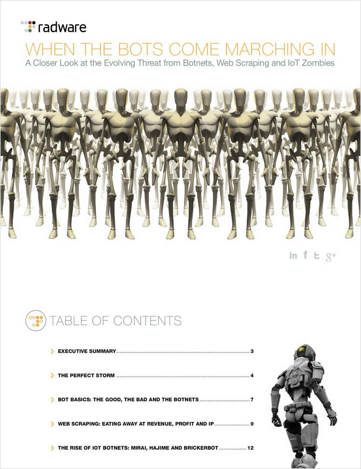 When the Bots Come Marching In, a Closer Look at Evolving Threats from Botnets, Web Scraping & IoT Zombies