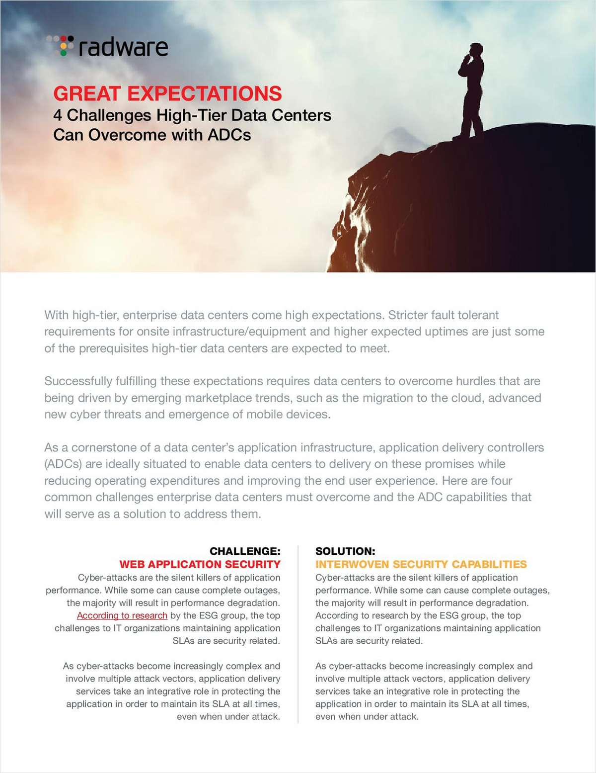 4 Challenges High-Tier Data Centers Can Overcome with ADCs