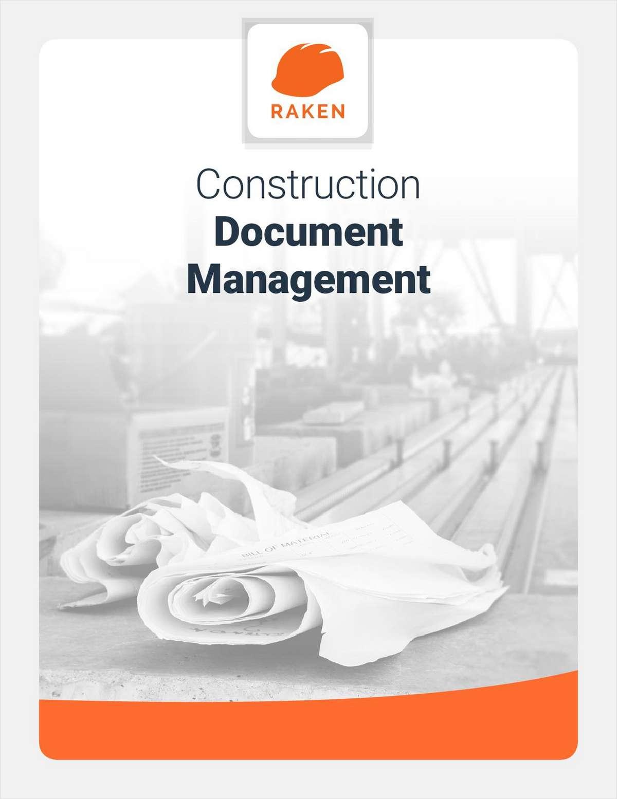 Construction Document Management