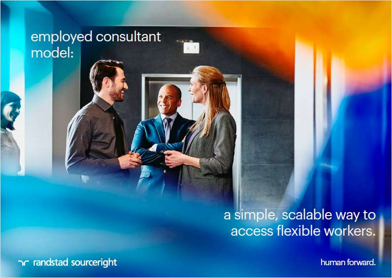 Employed Consultant Model: a simple, scalable way to access flexible workers.