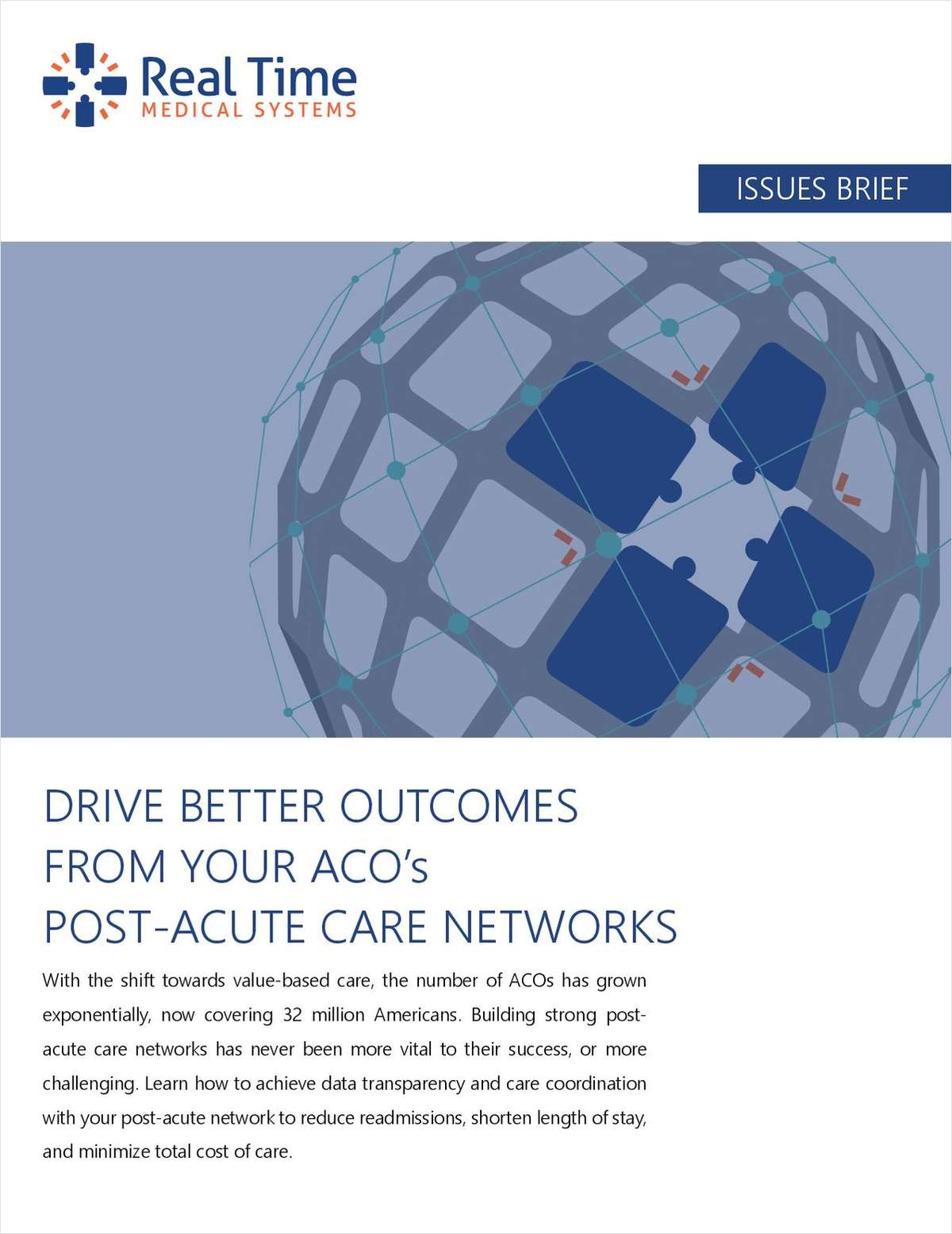 Drive Better Outcomes From Your ACO's Post-Acute Care Networks