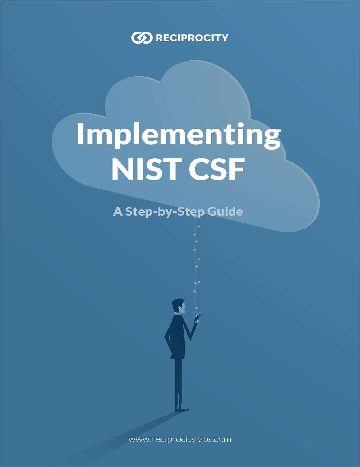 Preparing for a NIST Audit