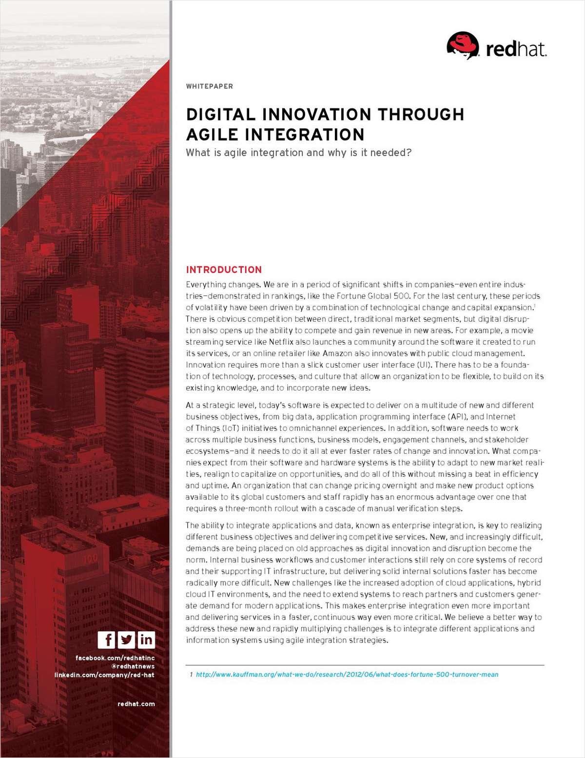 Digital Innovation Through Agile Integration