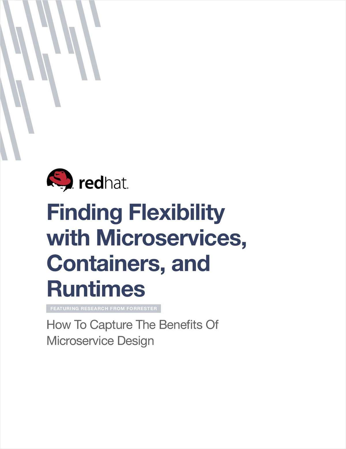 Finding Flexibility with Microservices, Containers, and Runtimes