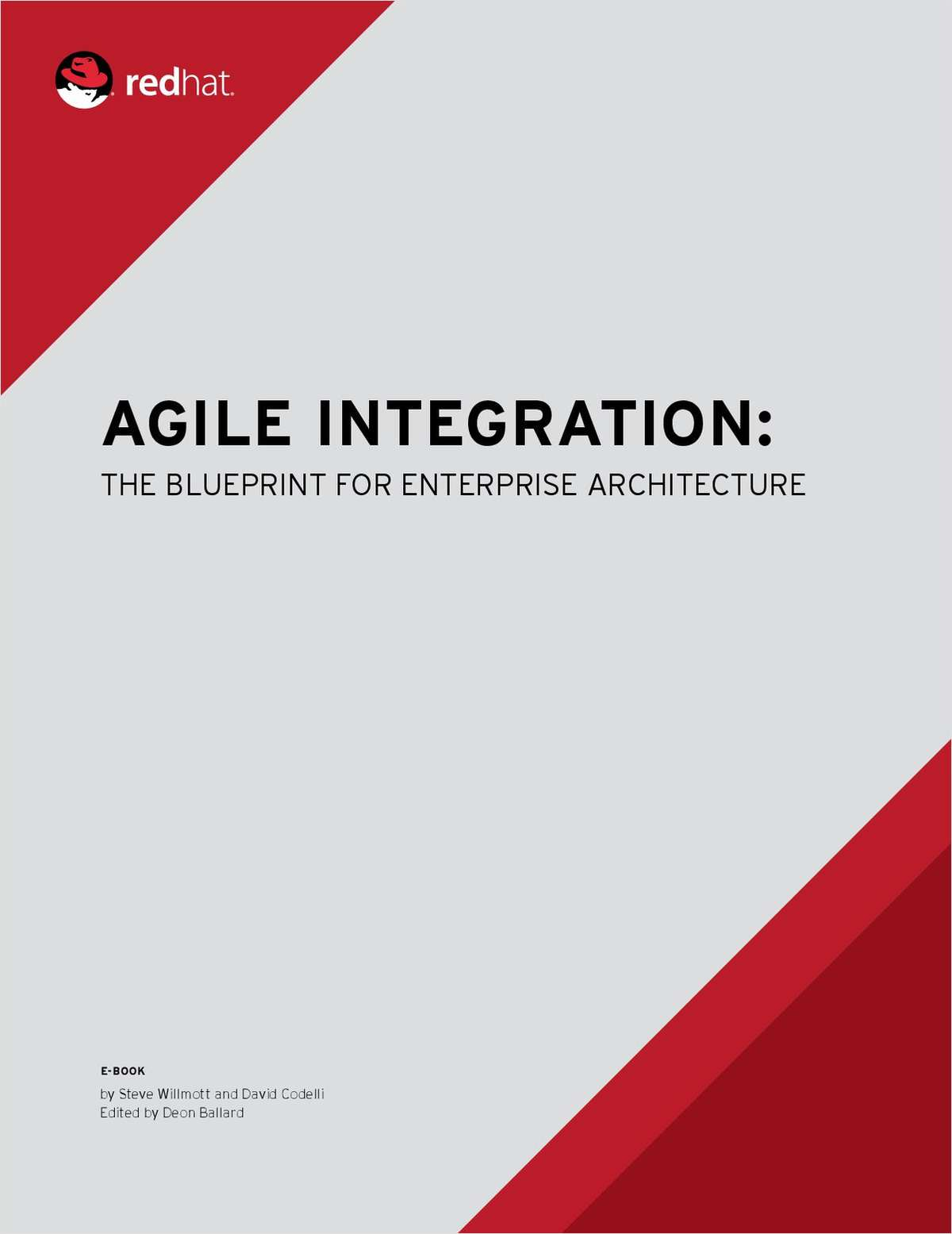 Agile integration: A blueprint for enterprise architecture