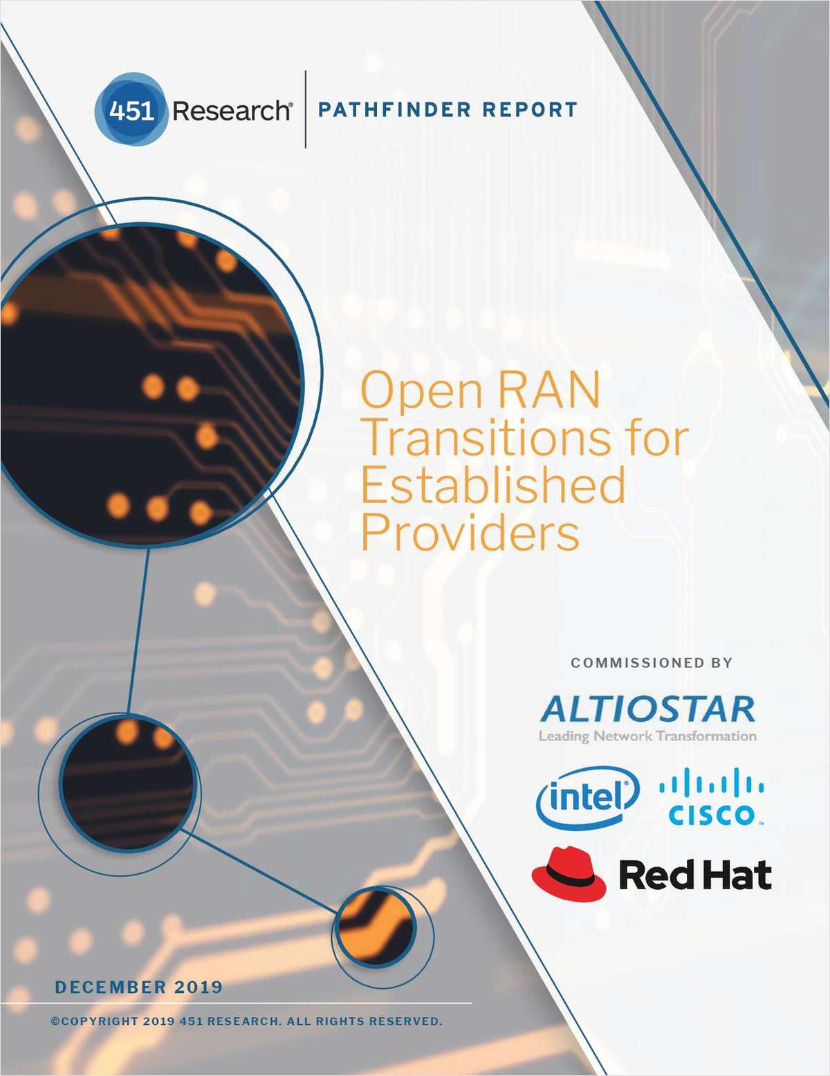 Open RAN Transitions for Established Providers