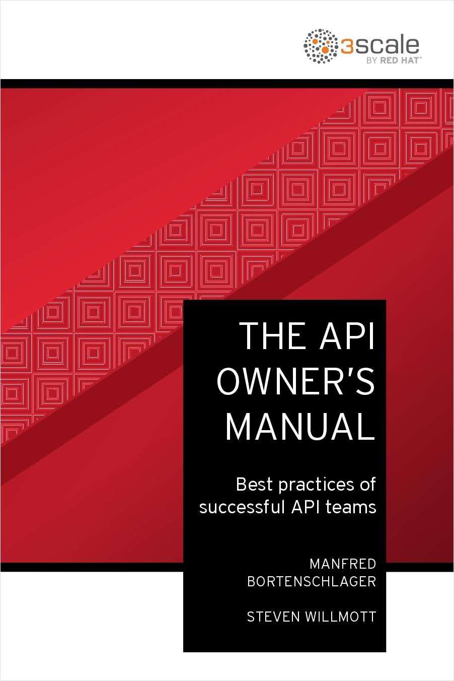 The API Owner's Manual