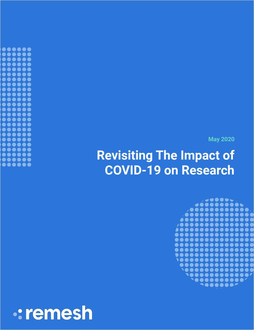 The Impact of COVID-19 on Research (Updated Report)