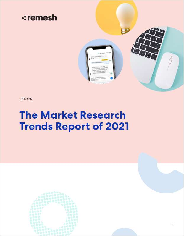 The Market Research Trends Report of 2021