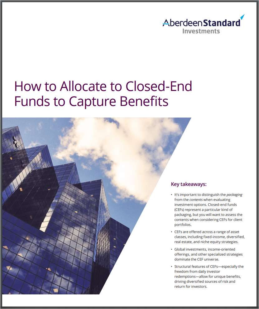 How to Allocate to Closed-End Funds to Capture their Benefits