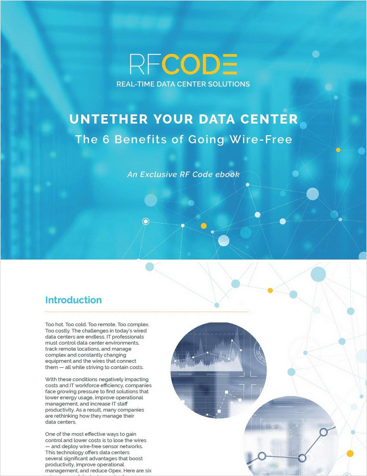 Untether Your Data Center: The Six Benefits of Going Wire-Free