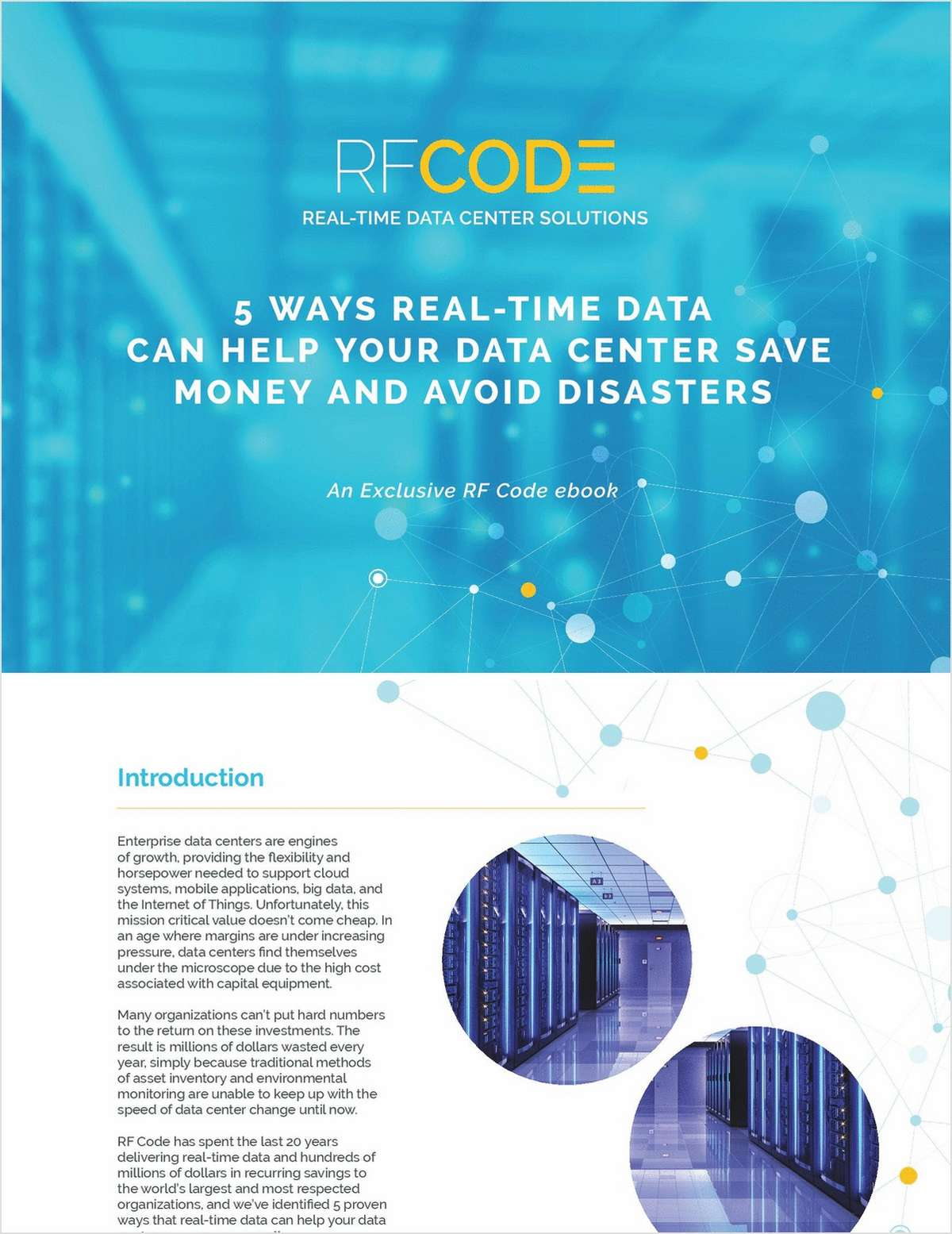 5 Ways Real-Time Data Can Help Your Data Center Save Money and Avoid Disasters
