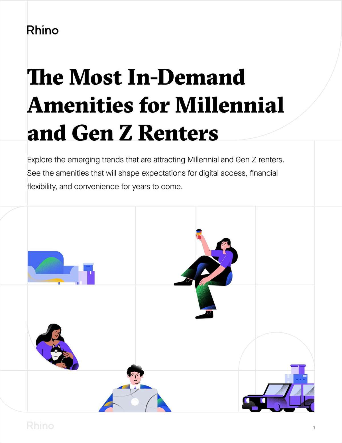 The Most In-Demand Amenities for Millennial and Gen Z Renters
