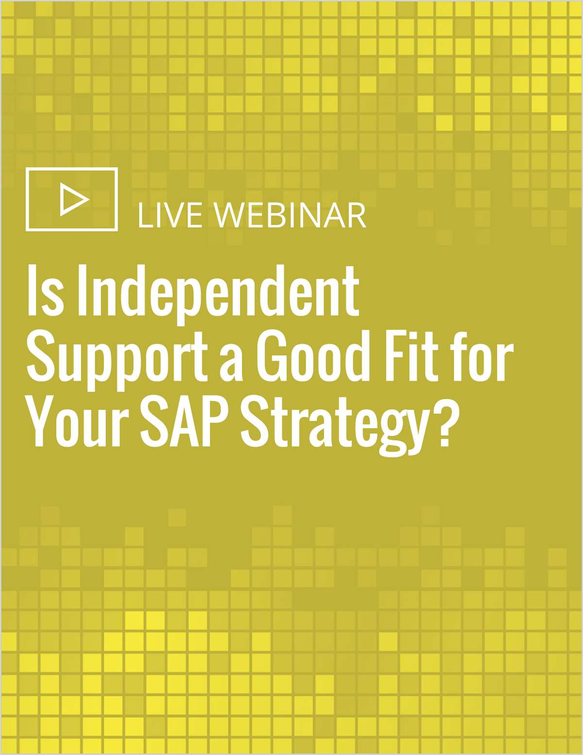 Is Independent Support a Good Fit for Your SAP Strategy?