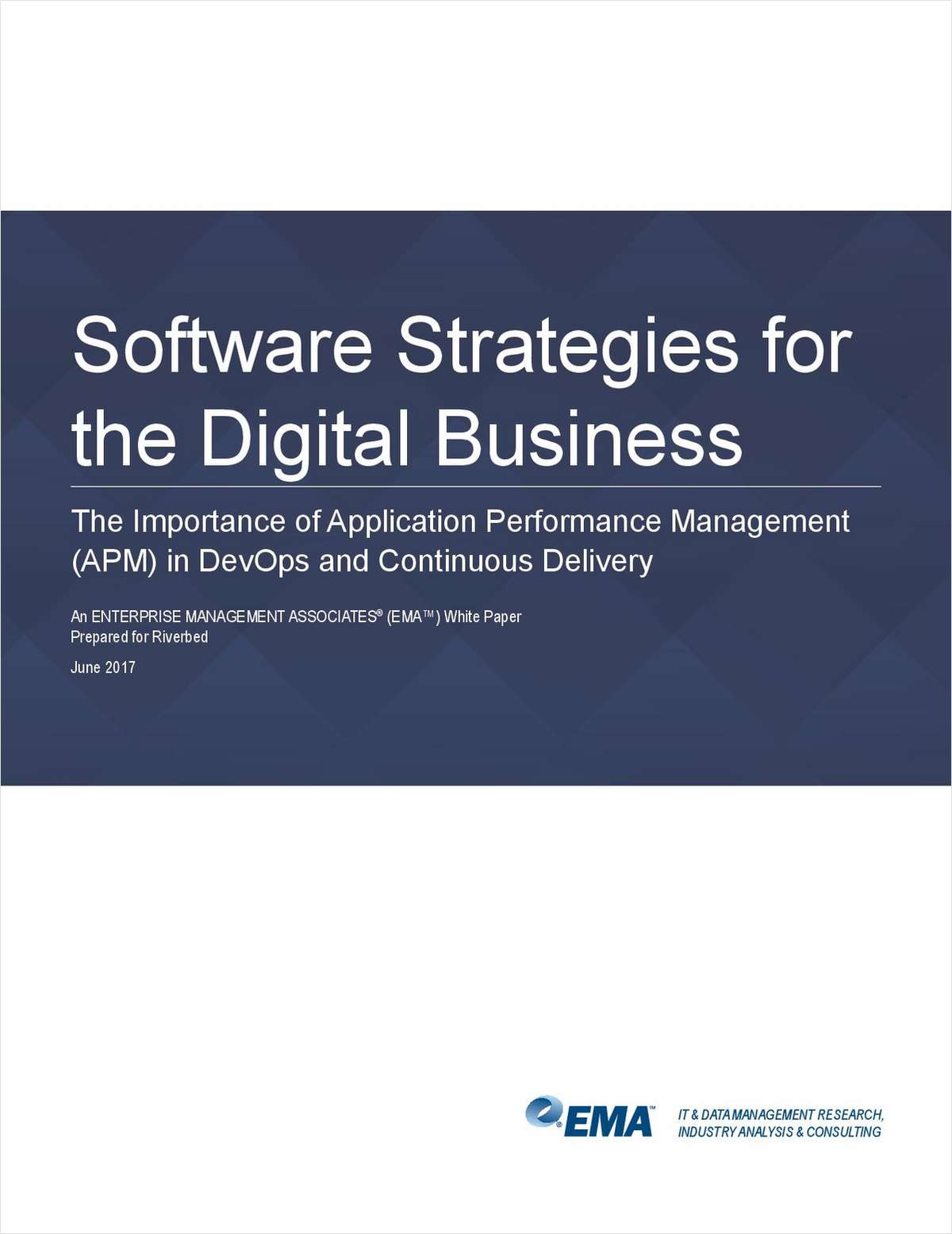 Software Strategies for the Digital Business: The Importance of APM for DevOps and Continuous Delivery