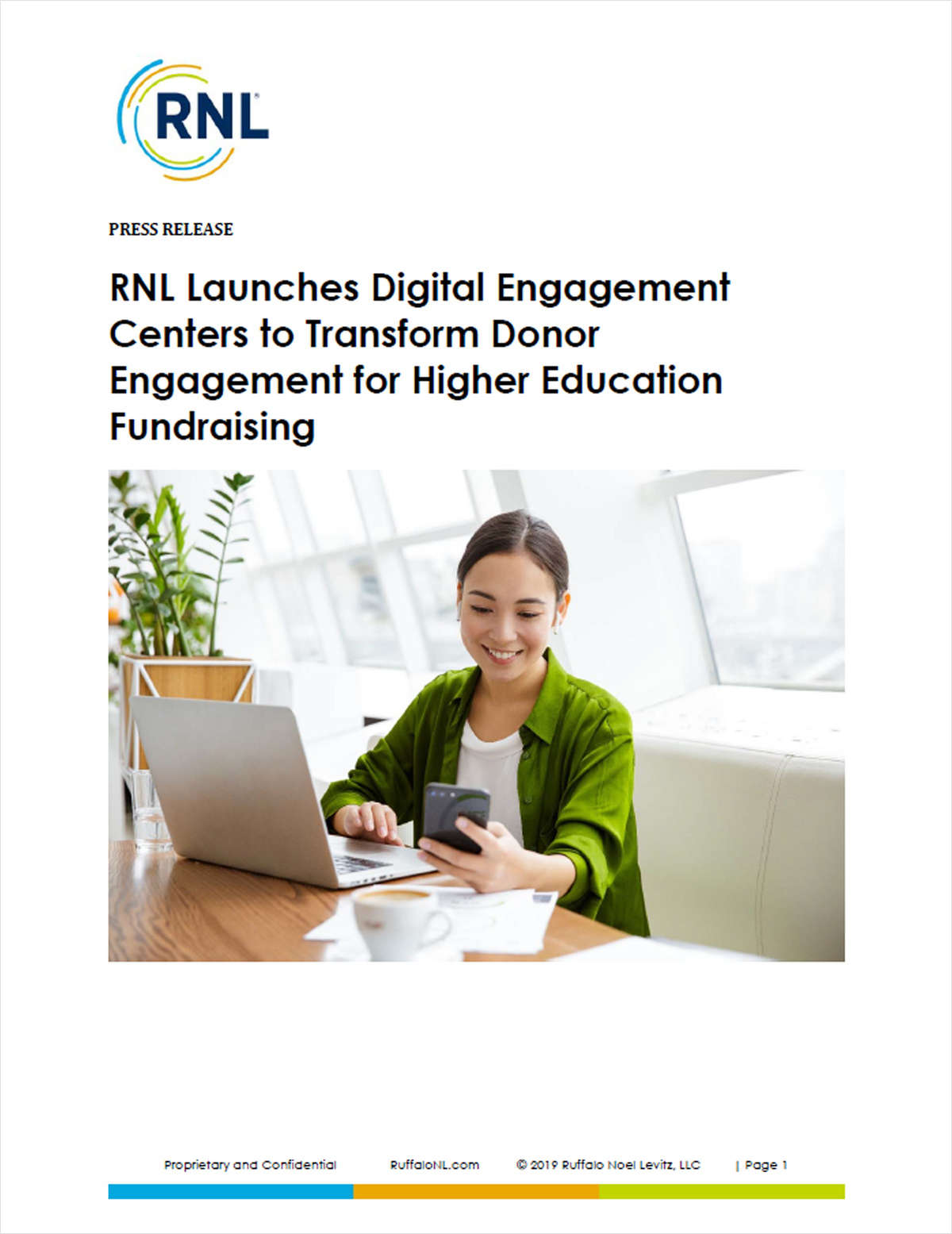 RNL Launches Digital Engagement Centers to Transform Donor Engagement for Higher Education Fundraising