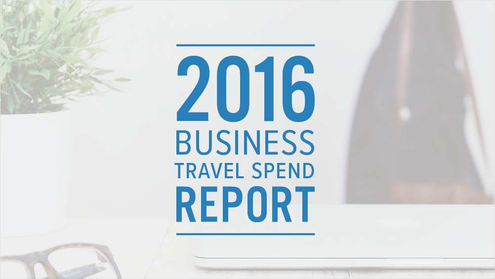 2016 Business Travel Spend Report