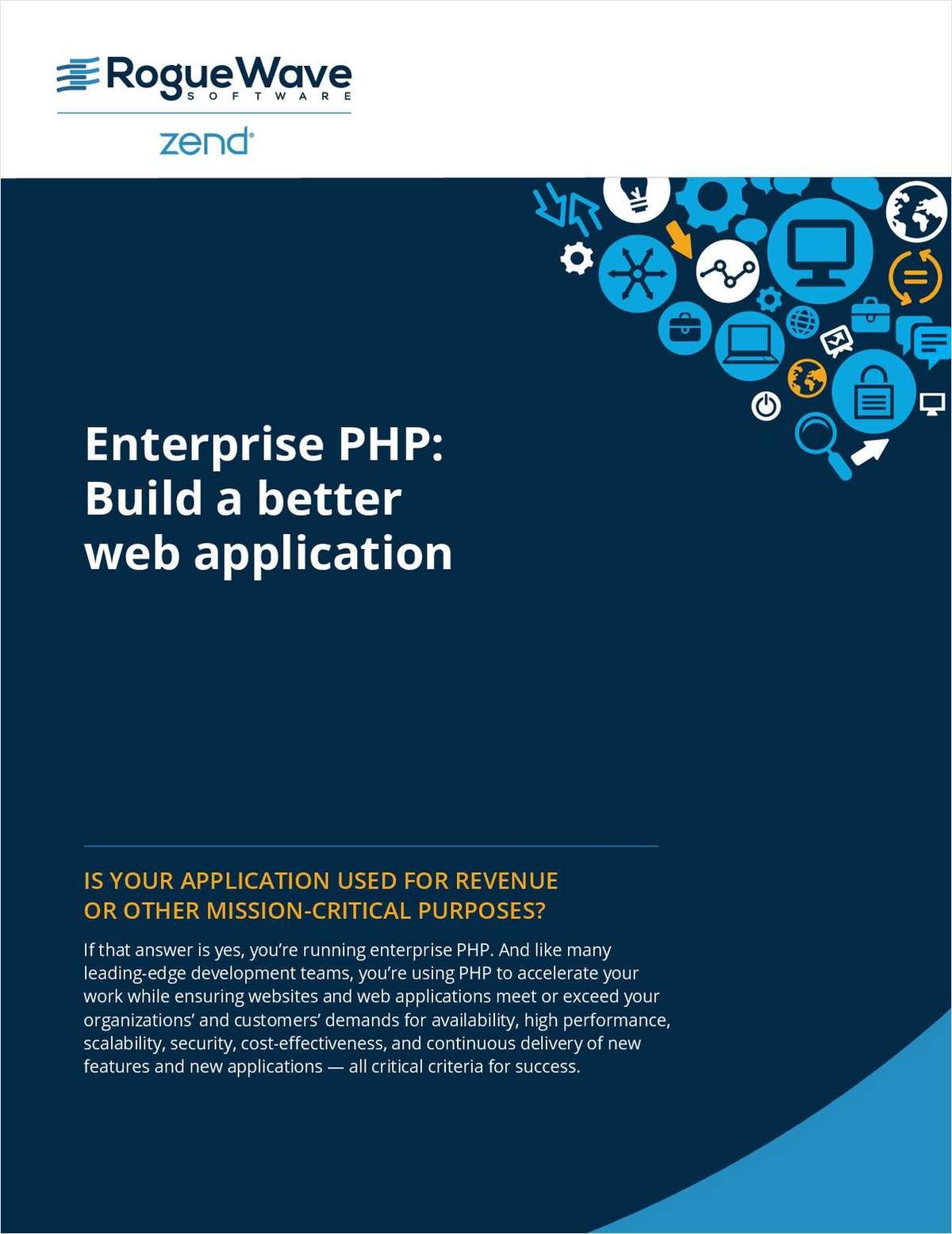 Enterprise PHP: Build a Better Web Application