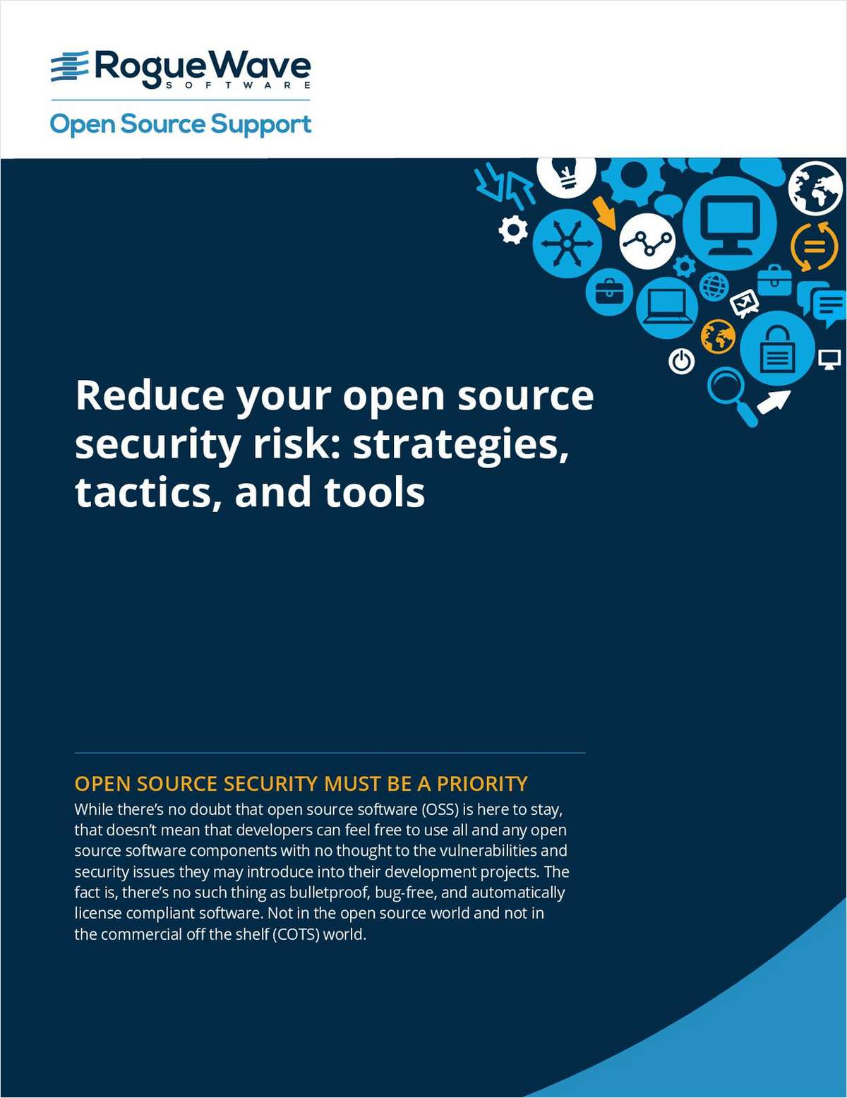 Reduce Your Open Source Security Risk: Strategies, Tactics, and Tools