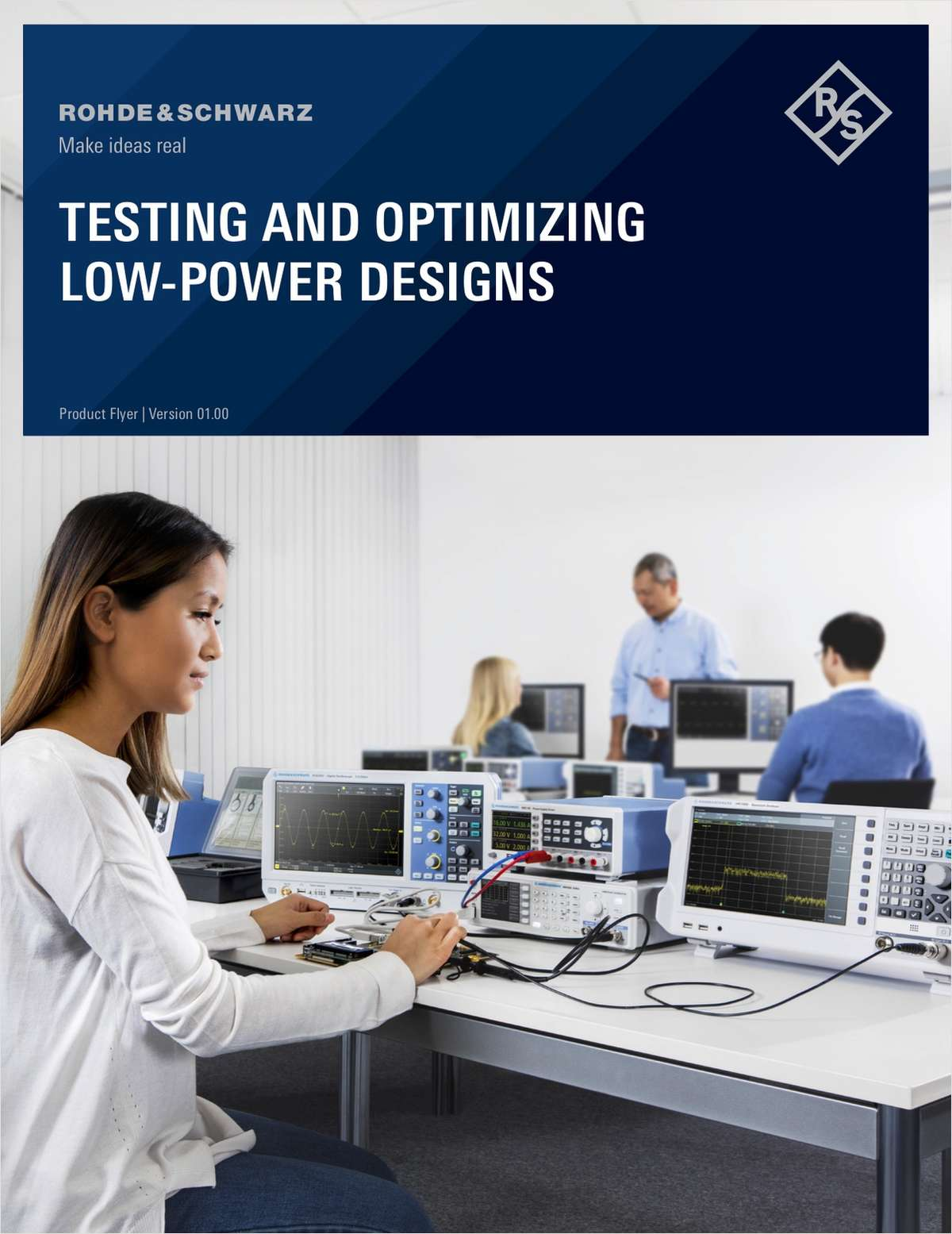 TESTING AND OPTIMIZING LOW-POWER DESIGNS