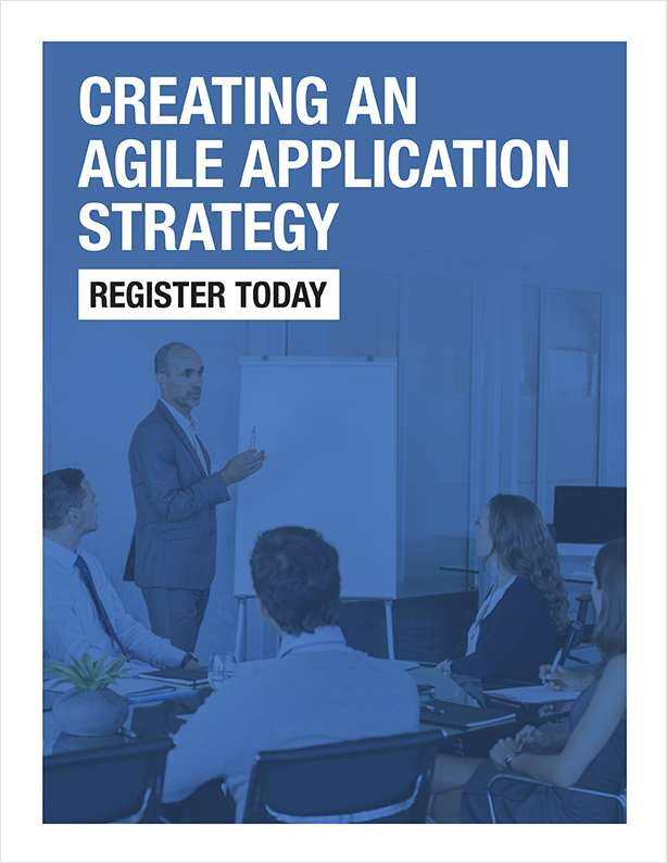 Creating an Agile Application Strategy