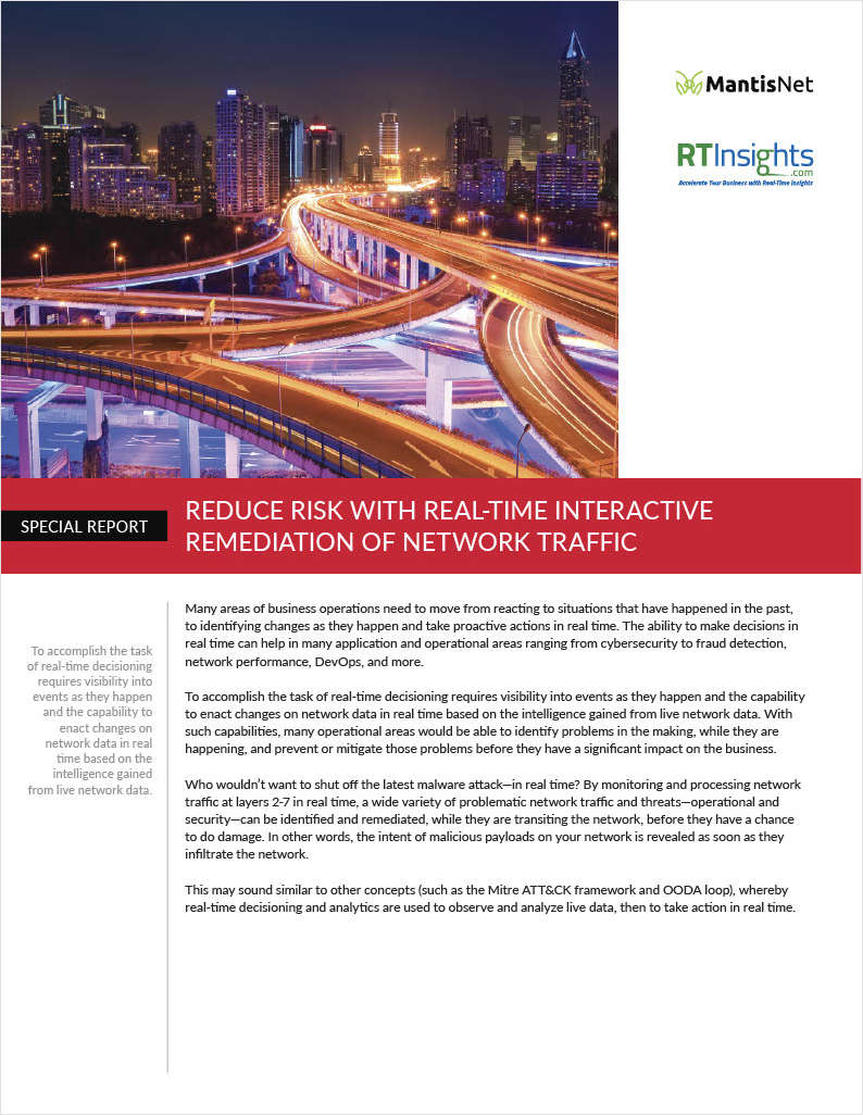 Reduce Risk with Real-time Interactive Remediation of Network Traffic