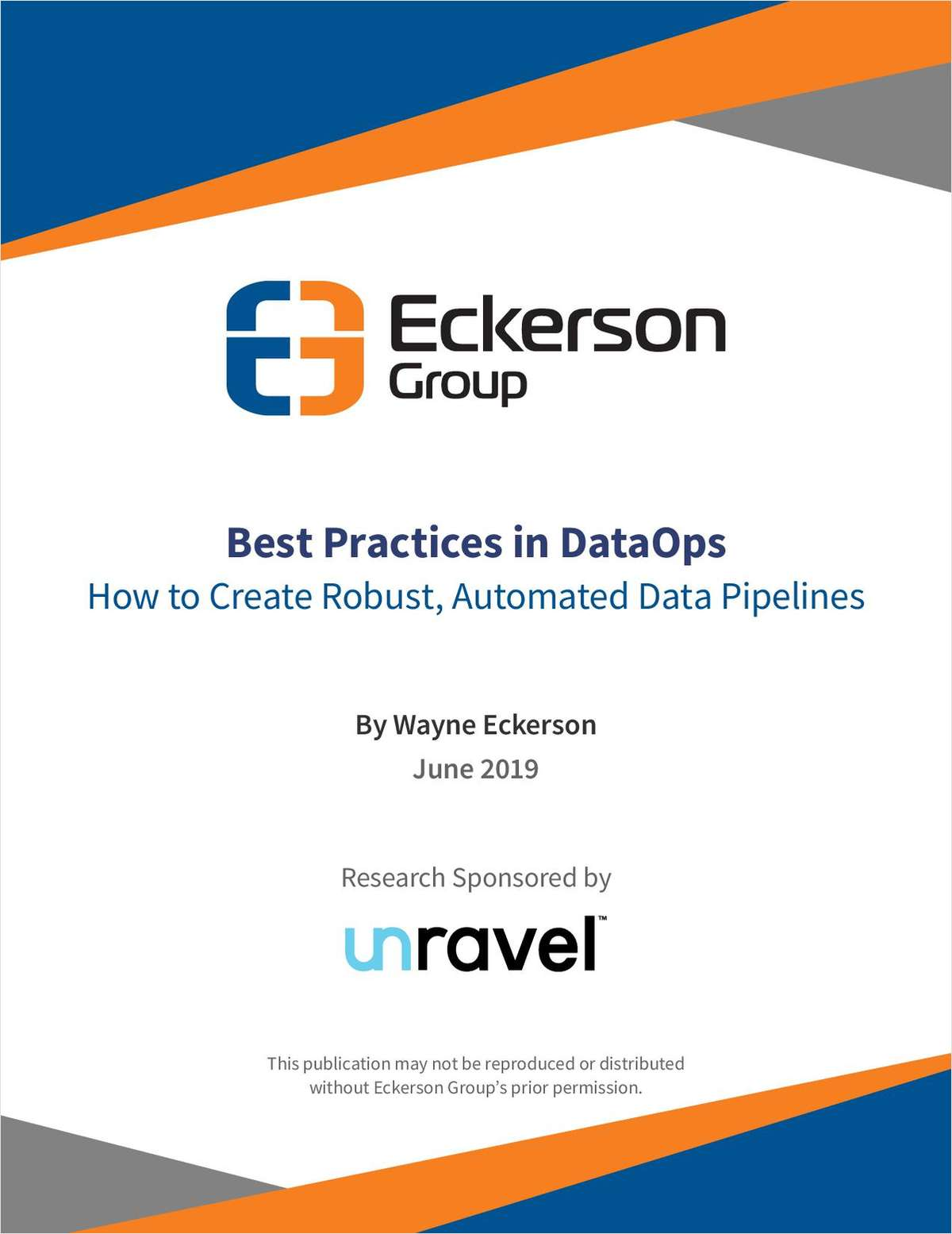 Best Practices in DataOps - How to Create Robust, Automated Data Pipelines