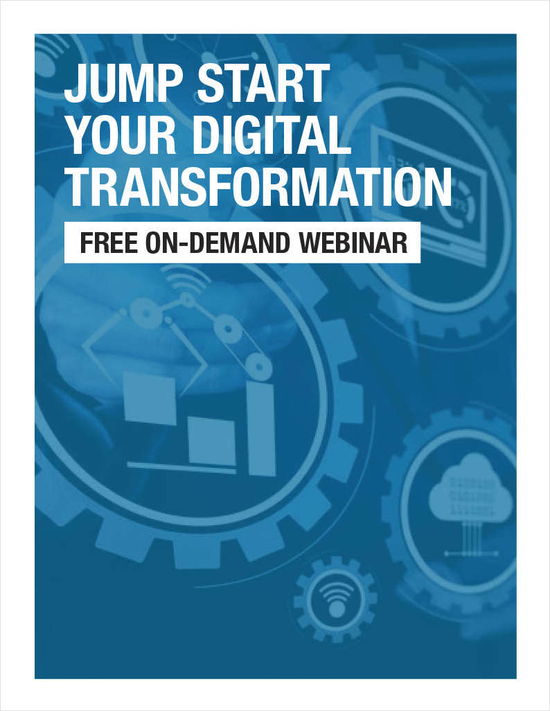 Jump Start Your Digital Transformation