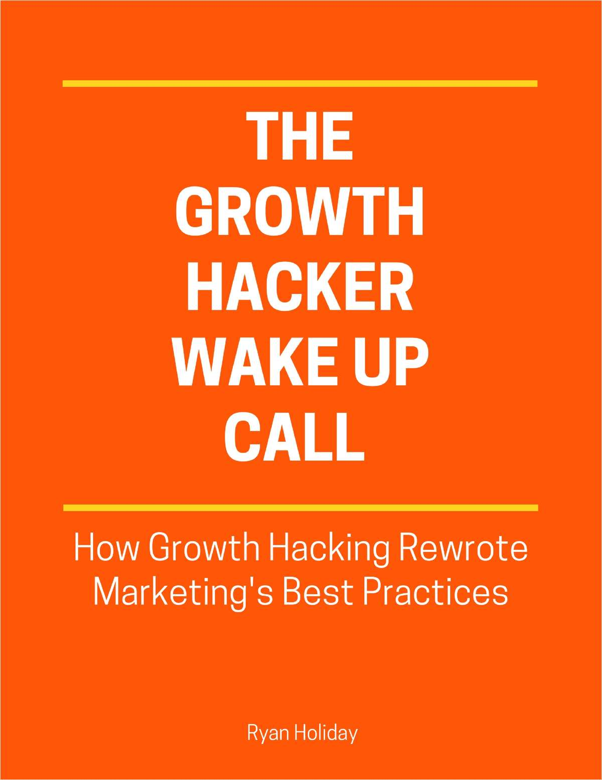 The Growth Hackers Wake Up Call