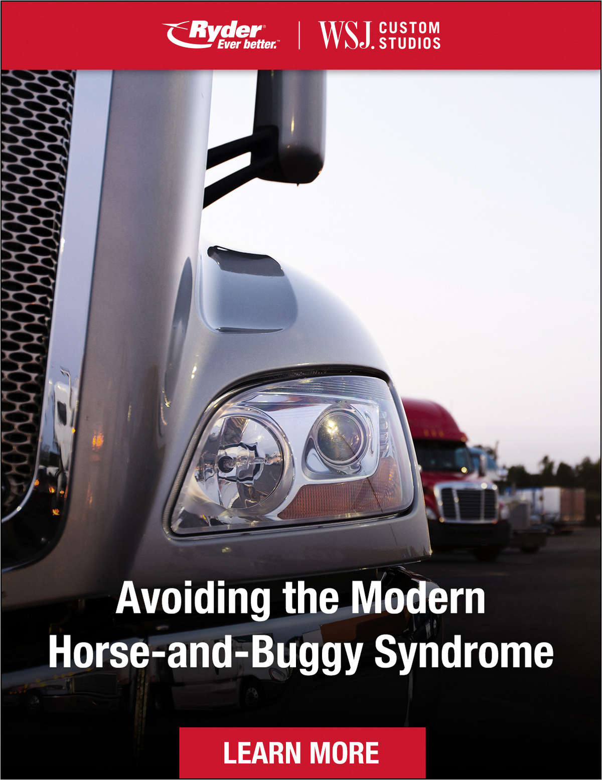 Avoiding the Modern Horse-and-Buggy Syndrome