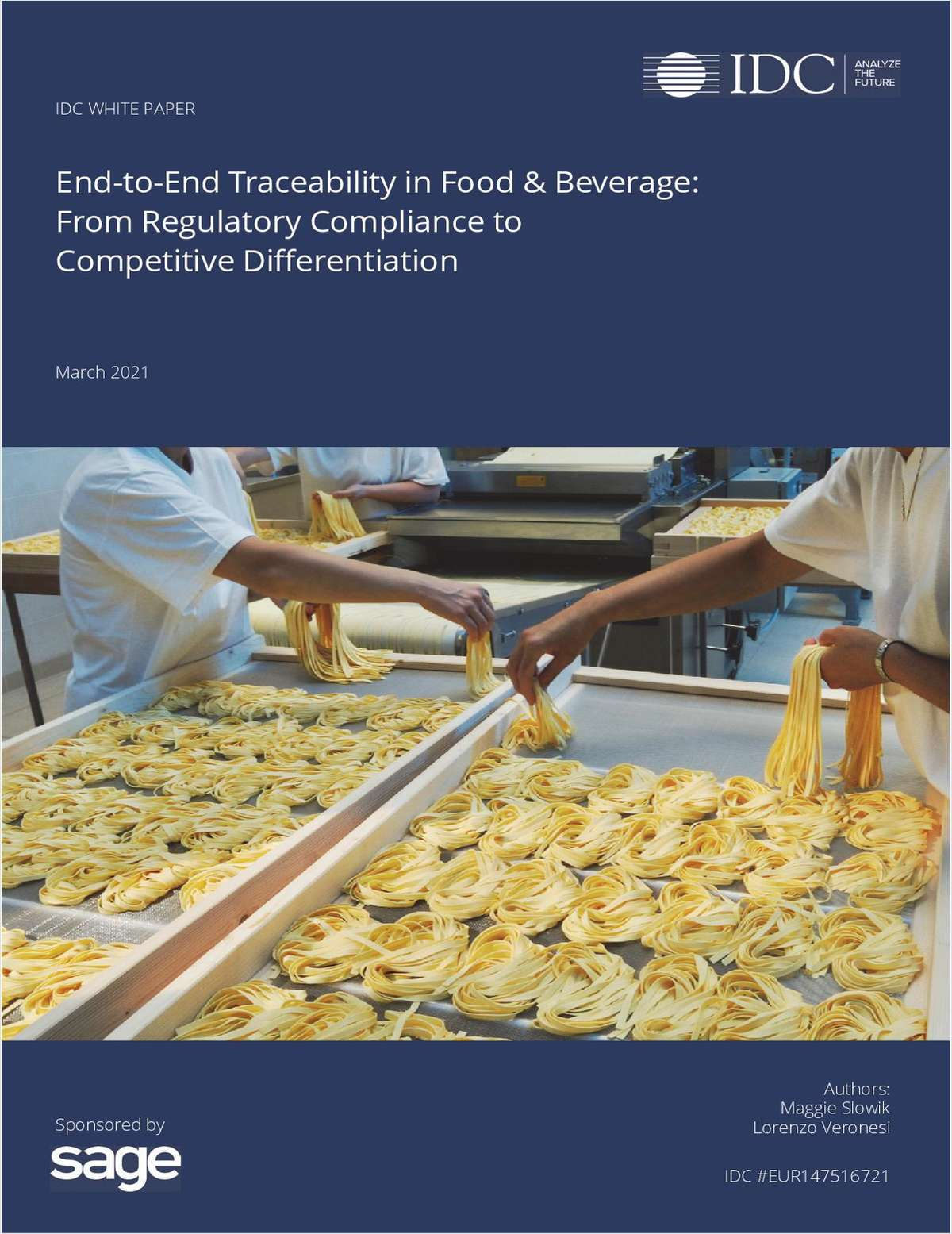 Regulatory Compliance to Competitive Differentiation for Food and Beverage Manufacturing