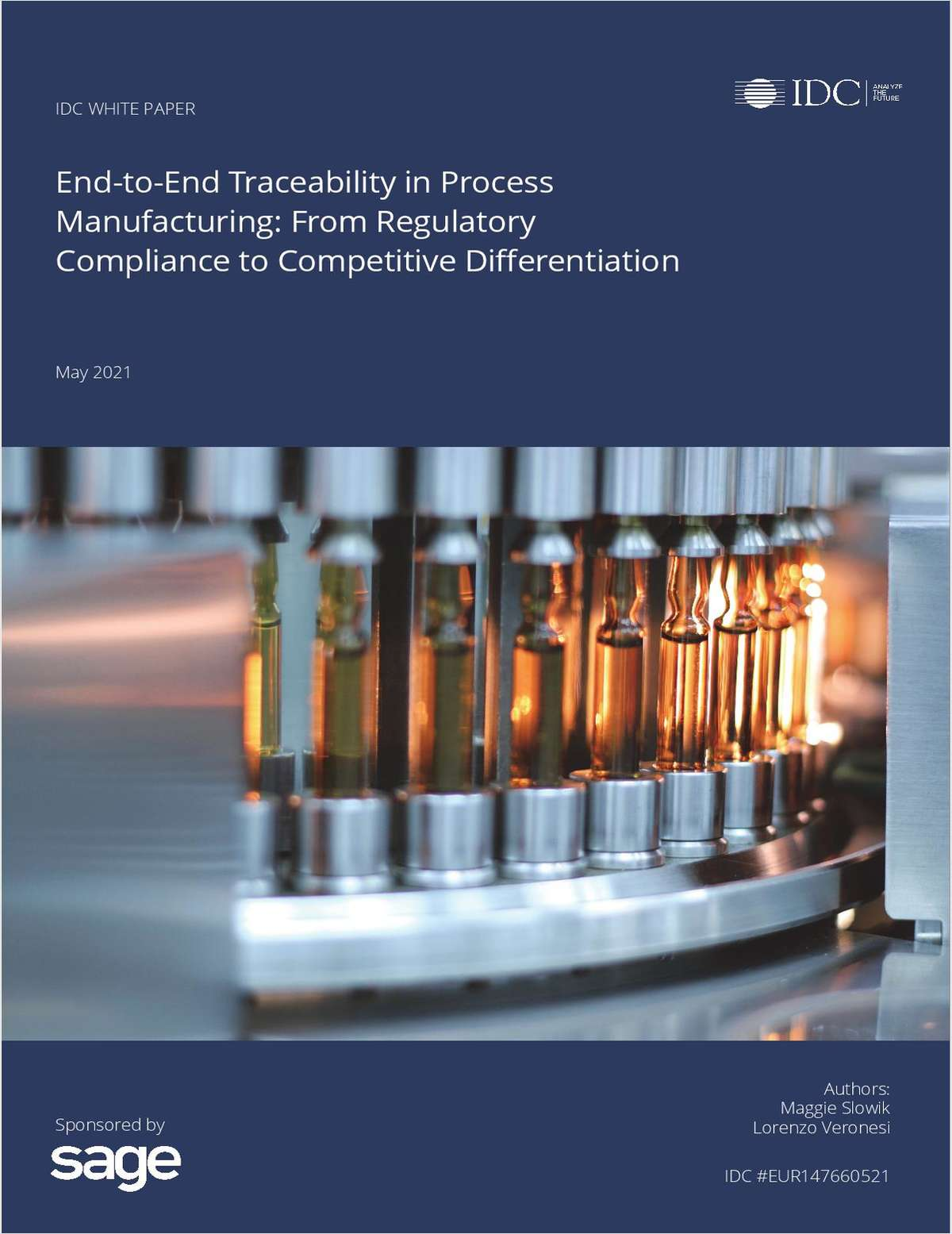 Regulatory Compliance to Competitive Differentiation for Process  Manufacturing
