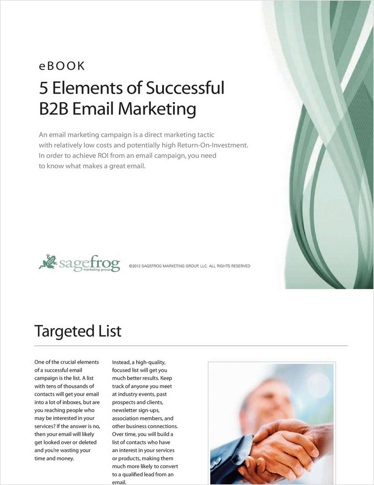 5 Elements of Successful B2B Email Marketing