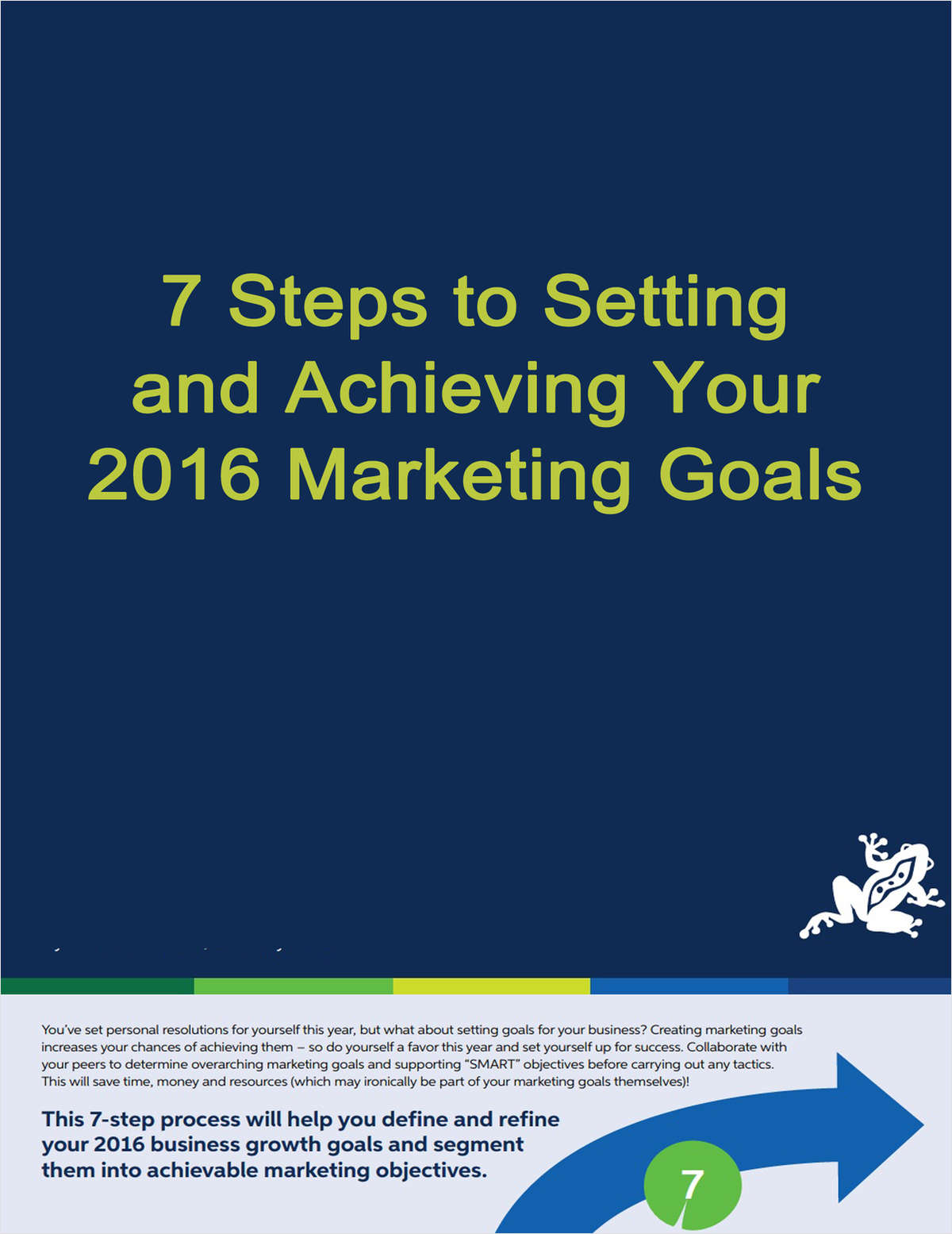 7 Steps to Setting and Achieving Your Marketing Goals