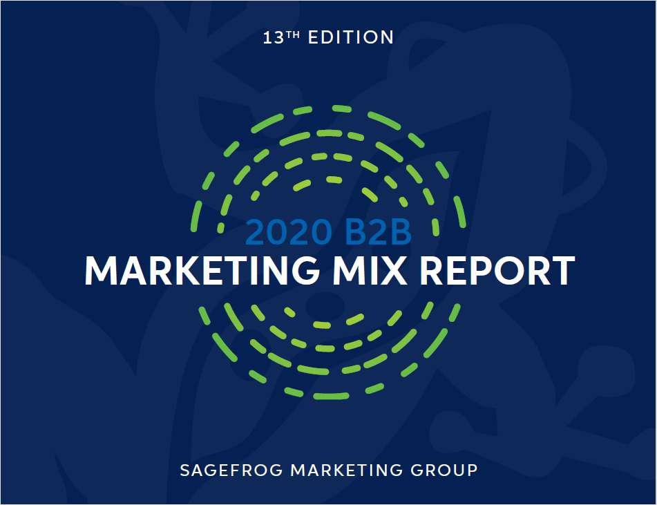 The 2020 B2B Marketing Mix Report