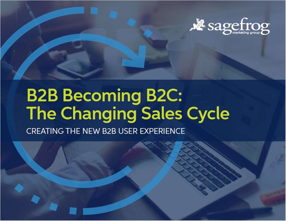B2B Becoming B2C: The Changing Sales Cycle