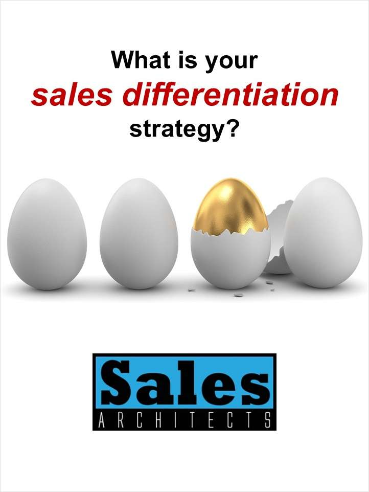 FREE Poster -- Sales Differentiation Strategy