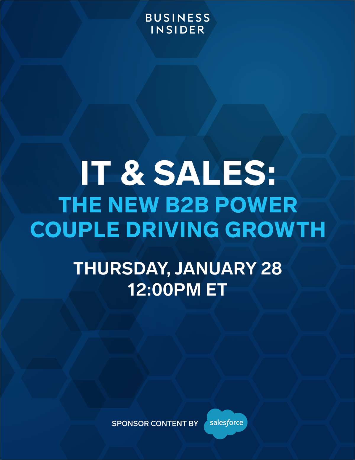 IT & Sales: Driving Growth through a Customer-First Digital Transformation
