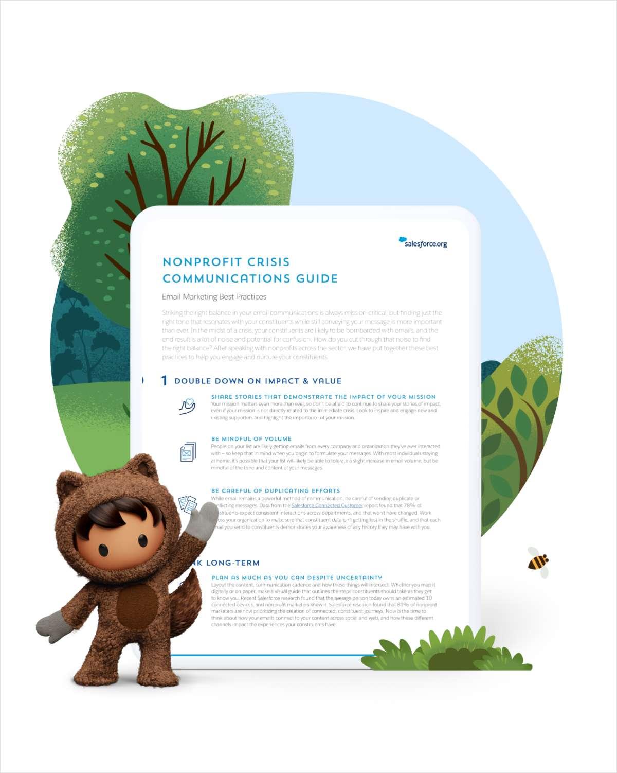 Nonprofit Crisis Communications Email Guide