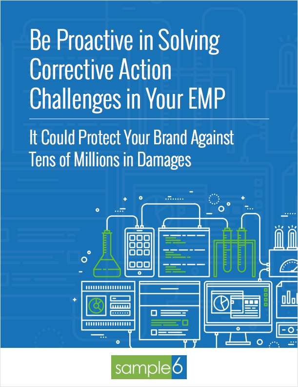 Be Proactive in Solving Corrective Action Challenges in Your EMP