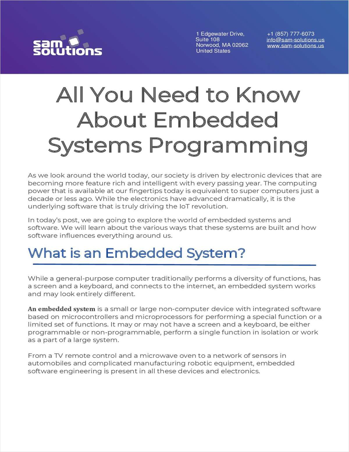Complete Guide to Embedded Systems Programming