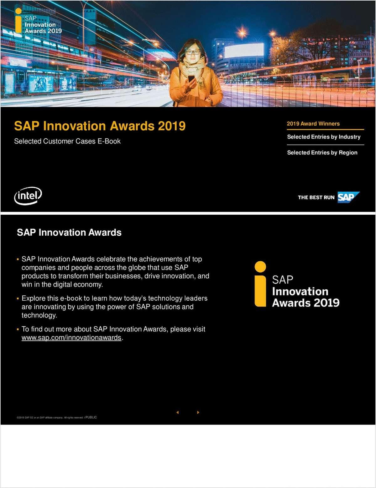 SAP Innovation Awards 2019