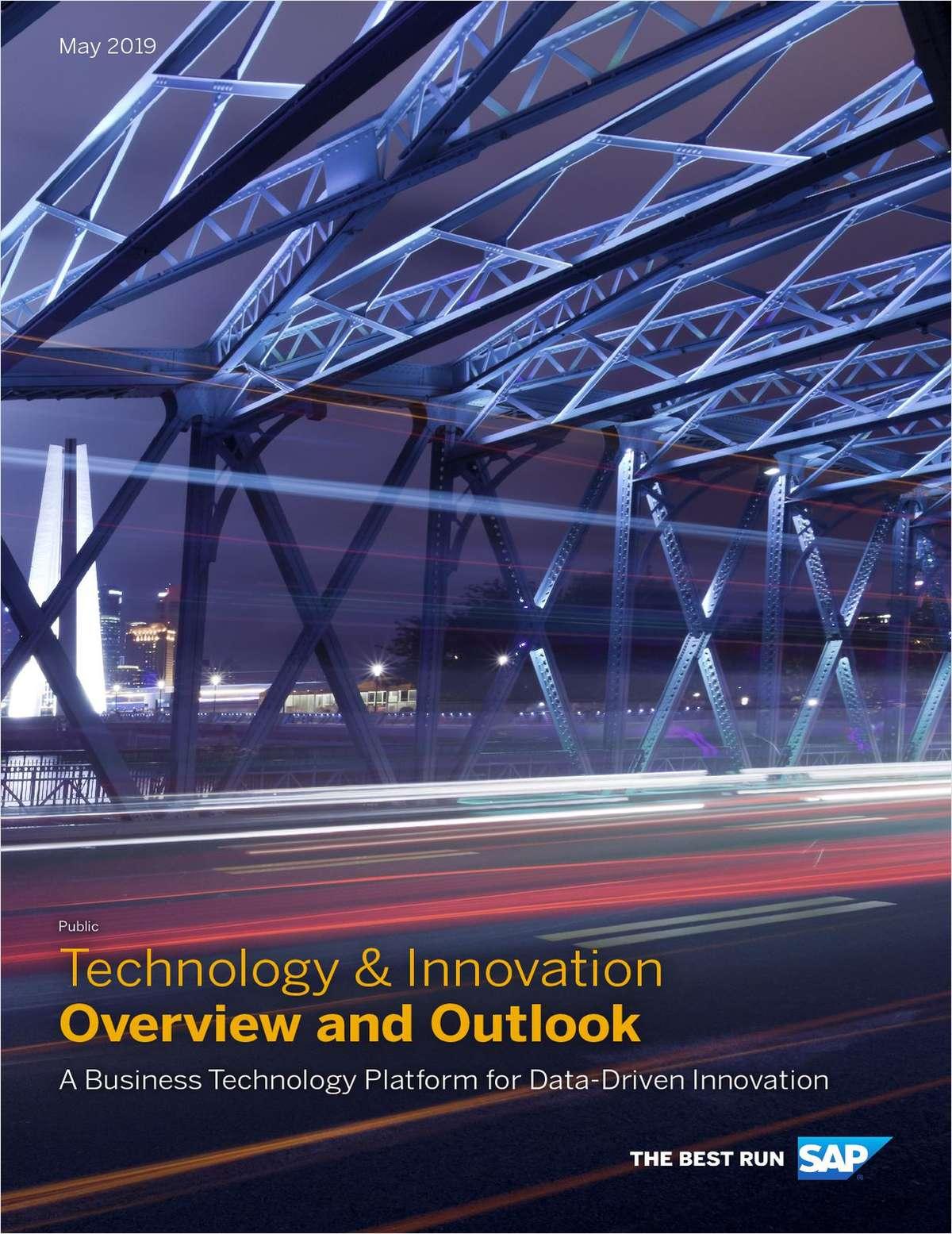 A Business Technology Platform for Data-Driven Innovation